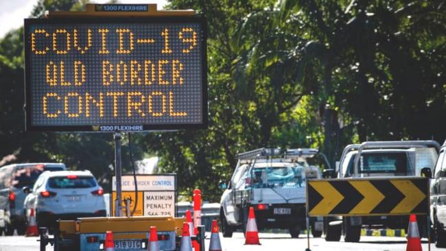 Die QLD-Grenze schließt in die Region Greater Sydney