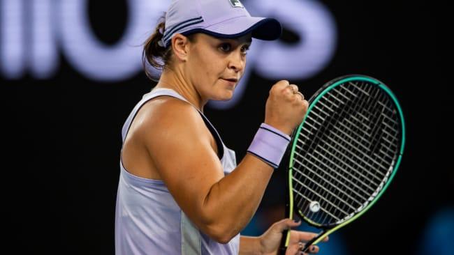 Ash Barty hat es bis zum Viertelfinale der Australian Open geschafft